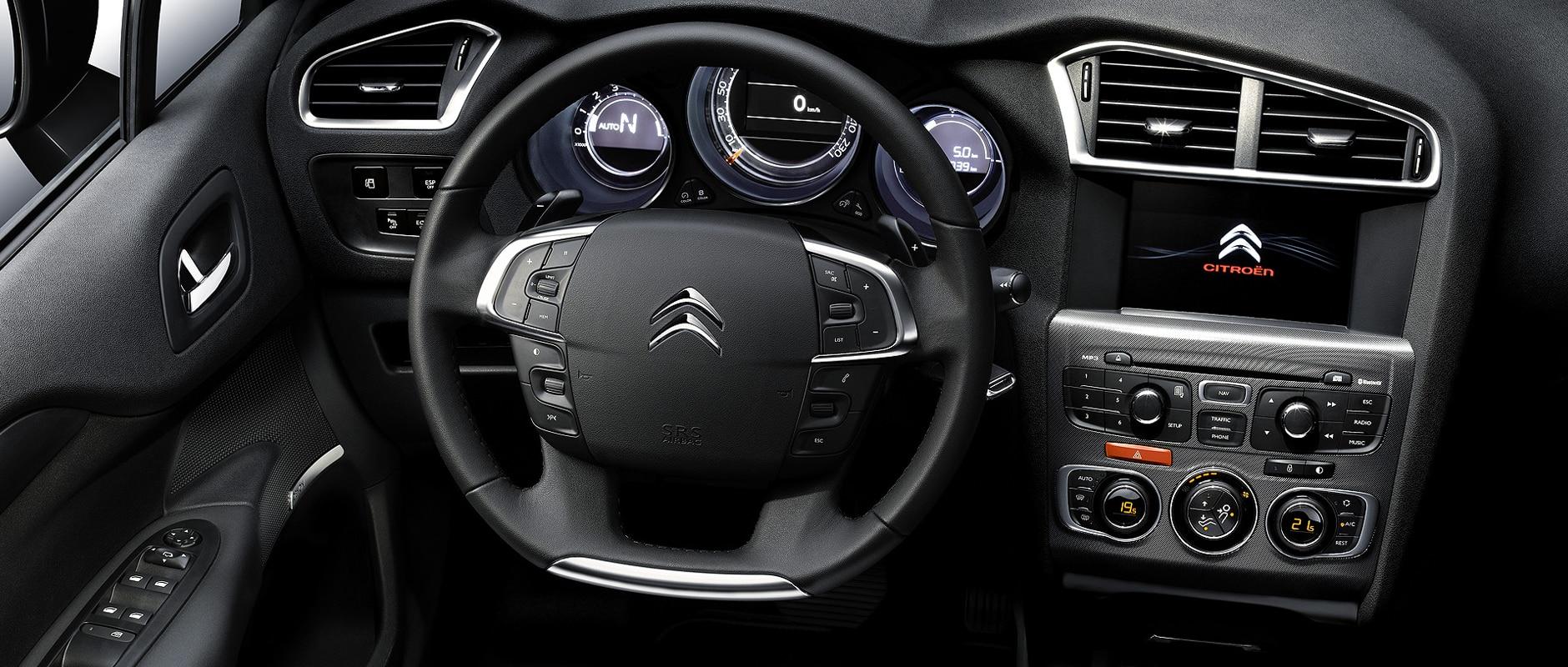 Citroën C4 - détails - Bien-être