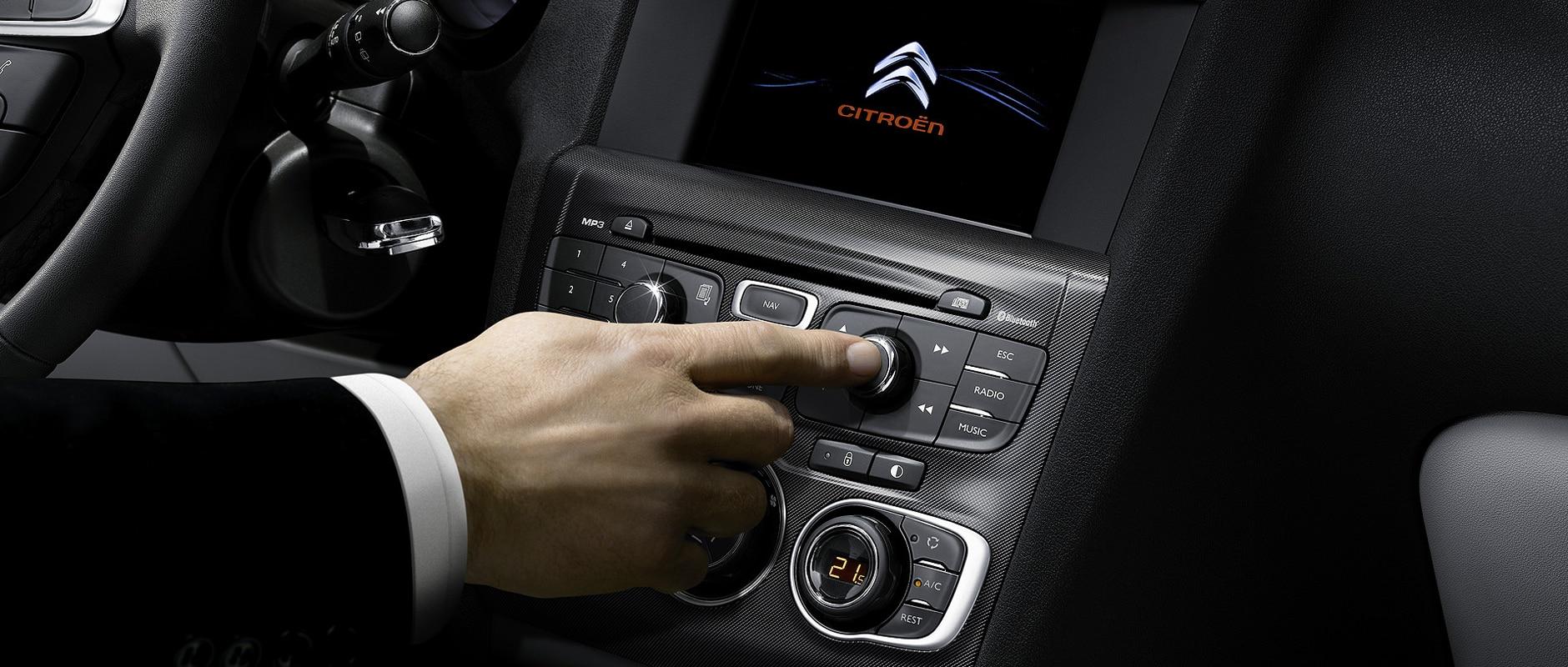 Citroën C4 - détails - Style
